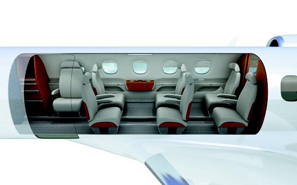 Embraer Extends Phenom 300 Jet Cabin
