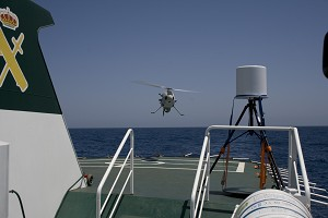 Camcopter S-100 Shipboard Trials With Guardia Civil South