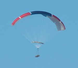 Airborne Systems Deploys Largest Autonomously Guided Ram-Air Parachute