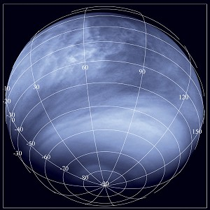 Venus Comes to Life at Wavelengths Invisible to Human Eyes