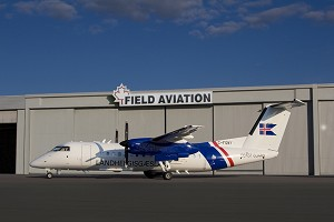 Field Aviation Delivers Modified Dash 8 Q300 to Icelandic Coast Guard