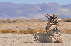 Metal Storm Weapons Participate in UGV Live-Fire Scenario