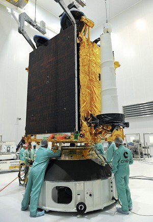 COMSATBw-2 is Readied for Integration on Ariane 5 Launcher