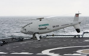 Camcopter S-100 1st Rotary Wing UAS Flying at ILA Berlin Air Show