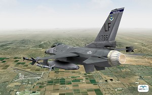 Luke AFB Replaces Presagis Lyra Visual Systems with MetaVR Systems in F-16 Simulators