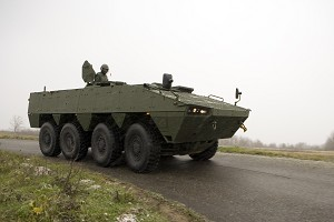 Patria & Croatian MoD Agreed on Amendment to Armoured Wheeled Vehicle Contract