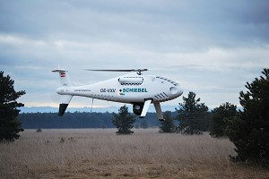 Wescam MX10 EO/IR Payload Flying on the Camcopter S-100 UAV