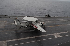NGC's E-2D Advanced Hawkeye Completes 1st Carrier Landing
