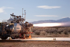 XCOR and ULA Demo Revolutionary Rocket Engine Nozzle Technology