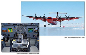 British Antarctic Survey's Dash 7 Completes 1st Season of Operations with Advanced Flight Deck