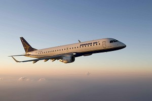 TRIP Adds 1st Embraer 190 Jet to its Fleet