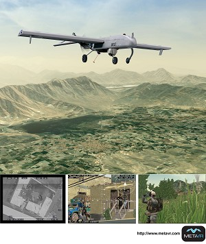 MetaVR Visuals Included in the Close Air Support Virtual Strike