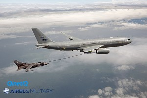 Airbus Military Tanker for RAF Performs 1st Contacts With Tornado