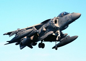 VX-31 Flies Harrier on Biofuel Blend for the First Time