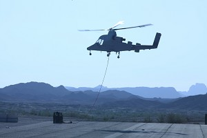 Navy and Marine Corps Select Unmanned K-MAX for Afghanistan Deployment