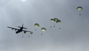 173rd Airborne drops in to Full-Spectrum Training Environment
