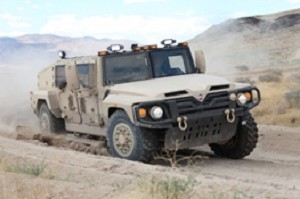 Navistar Unveils Light Tactical Vehicle Ready for Production
