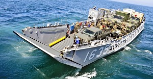 Navy Conducts Alternative Fuel Testing on Landing Craft Utility