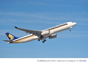 Singapore Airlines signs new Flight Hour Services contract with Airbus