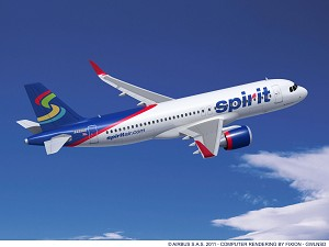 Spirit Airlines Signs Commitment for 75 Airbus A320 Family Jets