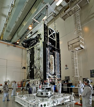 USAF and Lockheed Martin Complete Environmental Testing of Next Missile Warning Satellite