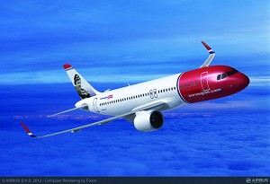 Norwegian commits to 100 A320neo aircraft