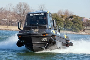 Gibbs Amphibians Introduces Phibian and Humdinga High Speed Amphitrucks