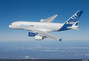A350's Trent XWB engine makes successful 1st flight on Airbus' A380 test aircraft