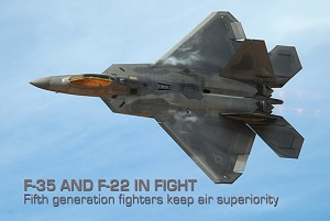 Fifth Generation Fighters Crucial to Air Superiority