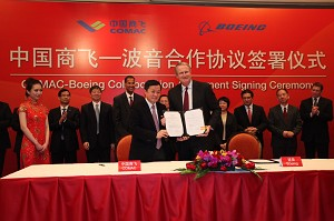 COMAC and Boeing Sign Collaboration Agreement to Partner in Areas Advancing Commercial Aviation Industry Growth
