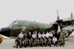 ARINC Aerospace Delivers Upgraded C-130H Transport to Indonesian AF