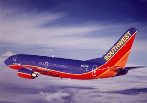 Southwest Airlines Celebrates Arrival of Carrier's 1st Boeing 737-800 Aircraft