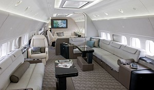 Boeing Unveils BBJ with Luxury Interior and New High-Speed Digital System