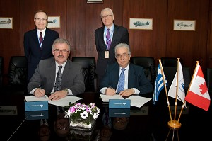 Hellenic Aerospace Industry Signed Mou With Canadian Vector Aerospace