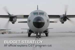 C-27 Program Cut Explained, Budget Aligned With Strategy