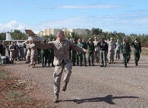 24th Marine Expeditionary Unit ''Raven'' flies the skies of Morocco