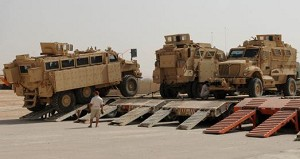 MRAP has future in Army with clearance, prepositioning