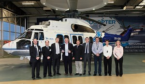 Omni Helicopter International receives 1st Eurocopter EC225