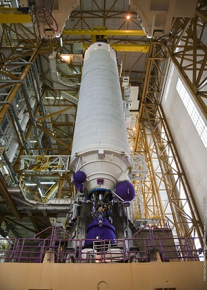 Assembly Begins for the 3rd Ariane 5 to Be Launched in 2012