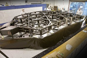 NGC and ATK Complete 1st Flight Hardware for NASA's JWST Backplane