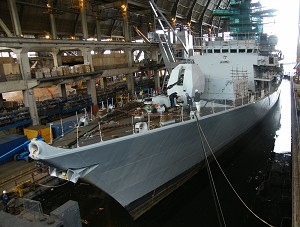 Babcock starts first refit under Phase 2 of Surface Ship Support Programme, on HMS Somerset