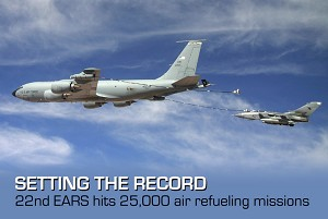 First refueling unit to reach 25,000 missions in single AOR