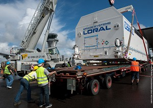 EchoStar XVII comes to French Guiana for dual-payload flight in June
