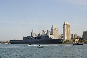 Navy Commissions Amphibious Transport Dock Ship San Diego