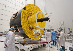 Europe's MSG-3 weather satellite is prepared for next Ariane 5 mission
