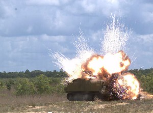 Successful Test Demo APKWS's Short-range Accuracy and Penetrator Warhead Performance