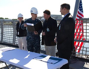 Nation's 3rd Littoral Combat Ship Delivered Two Months Early
