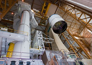 A milestone in launcher preparations for 4th Ariane 5 flight of 2012