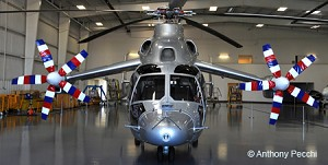 Eurocopter's revolutionary X3 helicopter begins its US tour in Texas