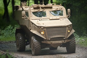 TenCate Advanced Armour supplies armour to QinetiQ for another 100 Foxhounds